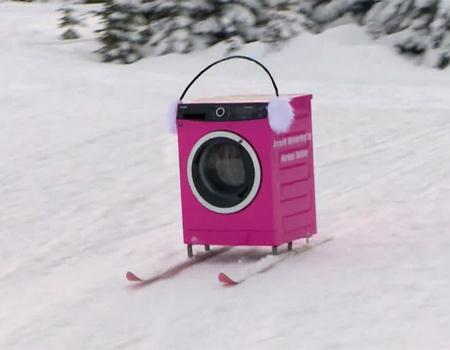 Arçelik çamaşır makineleri gerçek 'kar beyaz'ı Uludağ'da aradı