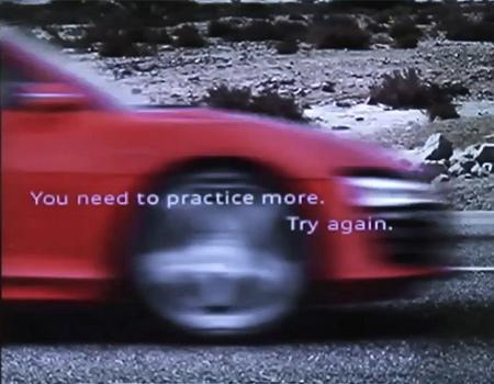 Audi'den R8'e özel interaktif reklam