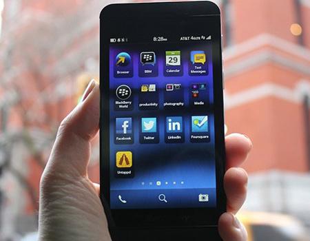 Blackberry Z10 reklamı telefonunuzu ele geçiriyor