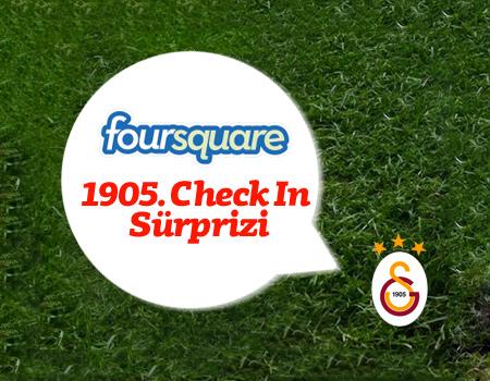 Galatasaray Foursquare'de fark yarattı
