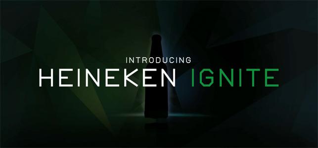 Heineken'in bira şişesi de teknolojiden nasibini aldı