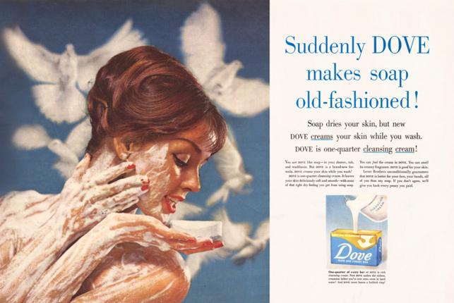 Creativity'den 60'lı yılların en iyi reklamları