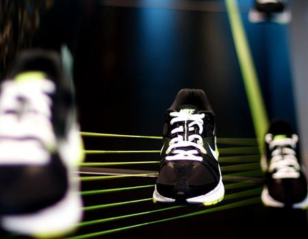 Nike ayakkabısı boya fırçasına dönüşürse…