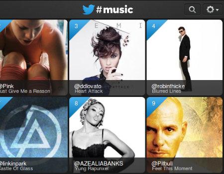 Twitter'ın #music servisi tüm kullanıcılara açıldı