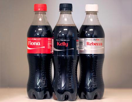 Coca-Cola'nın kişiselleştirilmiş kampanyasında rekor üretim