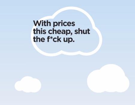 Dünyanın en ucuz havayolu şirketinden cesur kampanya.