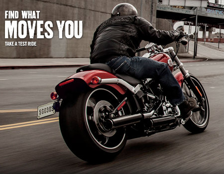 Markanın test sürüşü Harley-Davidson deneyimini eksiksiz yaşatıyor