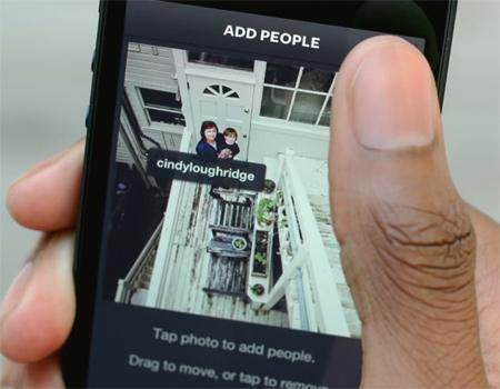 Artık Instagram'da kişileri etiketlemek mümkün