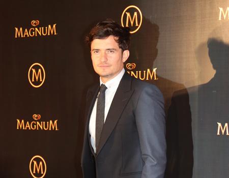 Magnum, marka yüzü Orlando Bloom'un onur konuğu olduğu parti düzenledi.