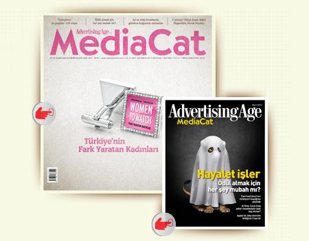 MediaCat ve AdAge interaktif içerikleri ile iPad'de