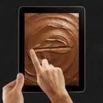 Parmak yalatan tablet reklamı