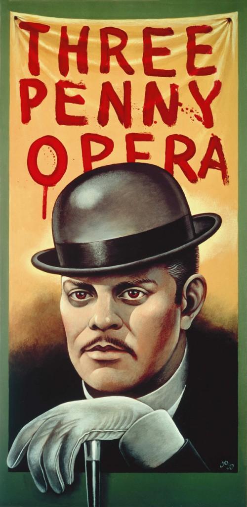 "Paul Davis, ""Three Penny Opera"""
