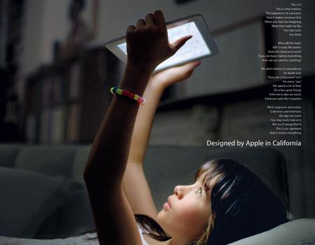 Apple'dan şiirsel ilanlar