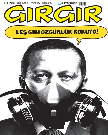 Gezi Parkı protestoları mizah dergilerine böyle yansıdı