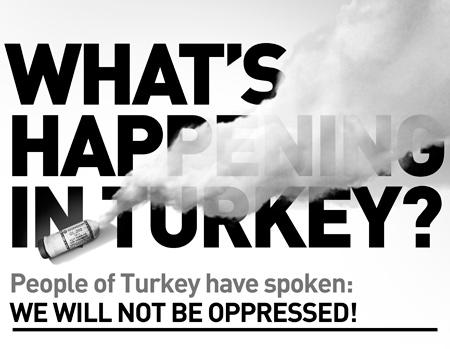 Gezi Parkı ilanı New York Times'ta yayınlandı