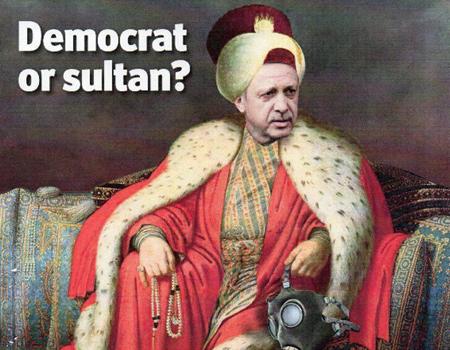 Başbakan Erdoğan The Economist kapağında