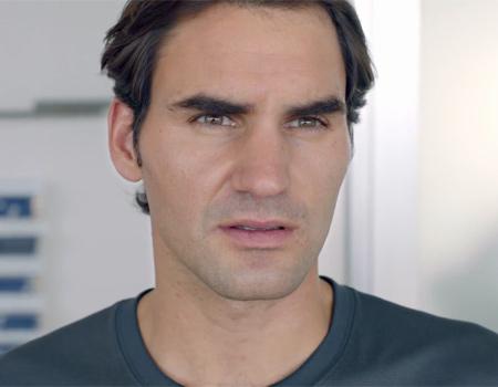 Federer sinek avlıyor