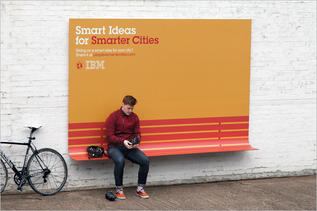Grand Prix: Ogilvy & Mather, Paris (IBM)
