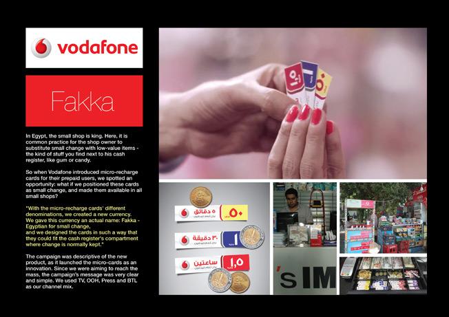 Altın Aslan: JWT, Kahire (Vodafone)
