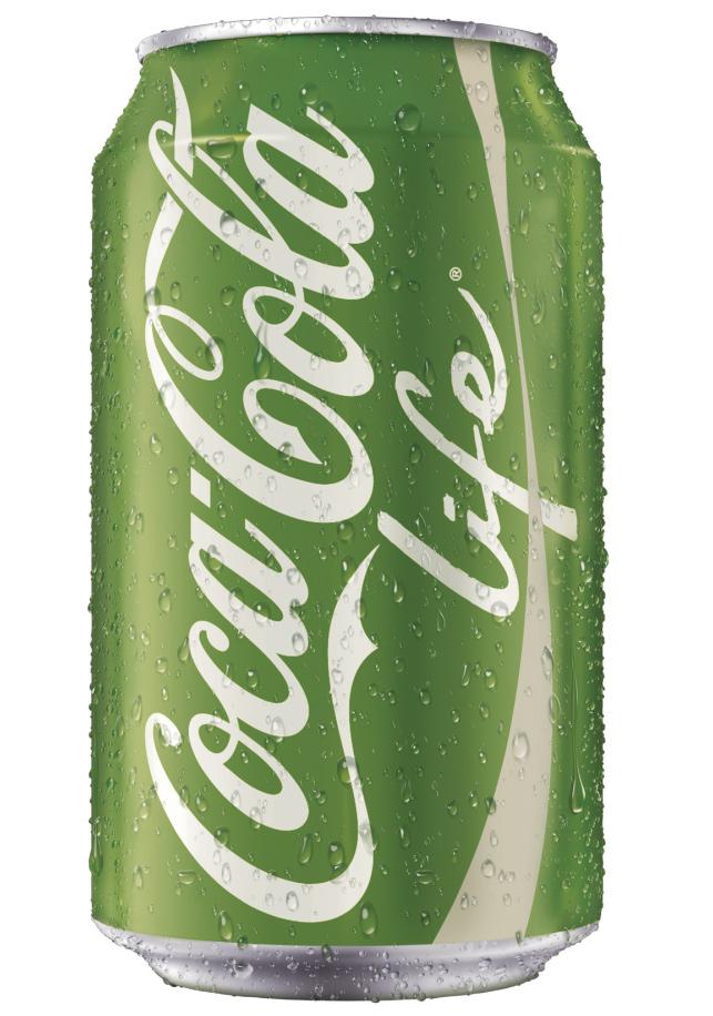 Coca-Cola yeşile büründü