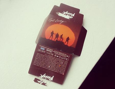 Durex'ten Daft Punk markalı kondom: 'Get Lucky'