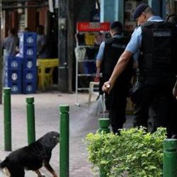 Köpeğe biber gazı sıkan polis meselesi…