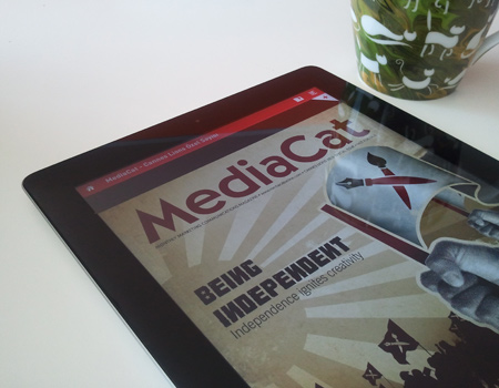 MediaCat Cannes Lions özel sayısı ücretsiz olarak iPad'de!