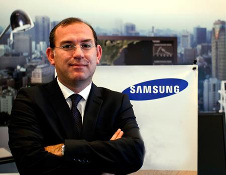 Samsung Türkiye'ye yeni kurumsal pazarlama direktörü