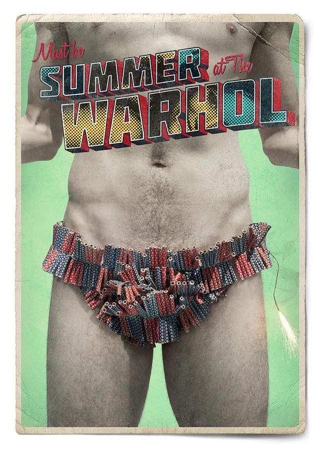 Warhol Müzesi'nden yaza farklı bakan posterler