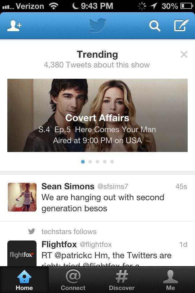 Twitter TV şovlarını ön plana çıkaracak bir özelliği deniyor