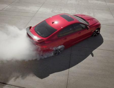 Jaguar'ın XFR-S modeli için hazırlanan filmin teknik öyküsü.