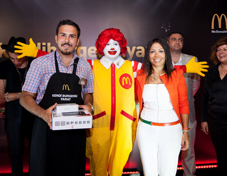 McDonald's'ın 'Kendi Burgerini Yarat' yarışması sonuçlandı.