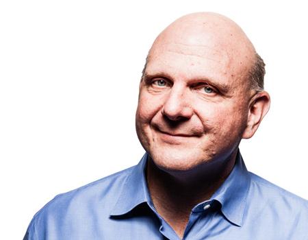 Microsoft, firmanın CEO'su Seteve Ballmer'ın 12 ay içinde emekliye ayrılacağını açıkladı.