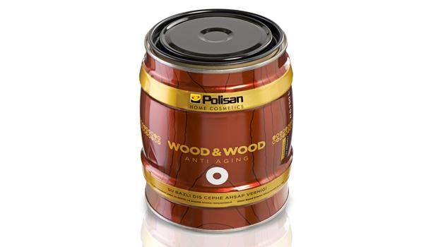 """Ev-Otomotiv-Ofis Araç ve Gereçleri ile İhtiyaç Malzemeleri Kategorisi: """"Wood & Wood Anti Aging Ahşap Verniği Yarı Mat, Su Bazlı"""" Polisan Boya San. ve Tic. A.Ş."""