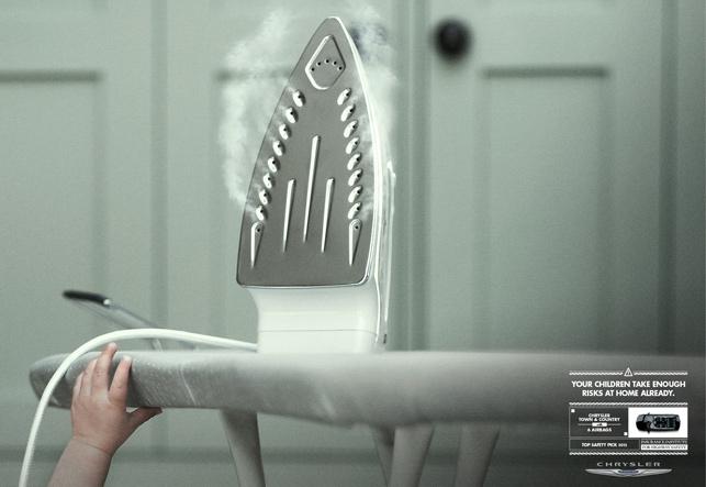 Chrysler: Eviniz çocuğunuz için yeterince riskli, arabanızı dikkatli seçin