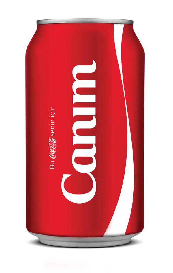 Coca-Cola kişisel etiket kampanyasını Türkiye'ye uyguluyor