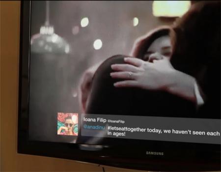 Coca-Cola Romanya'da Twitter ve televizyonu buluşturdu