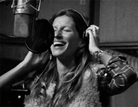 Yeni Rock'n Roll Kraliçesi: Gisele Bündchen