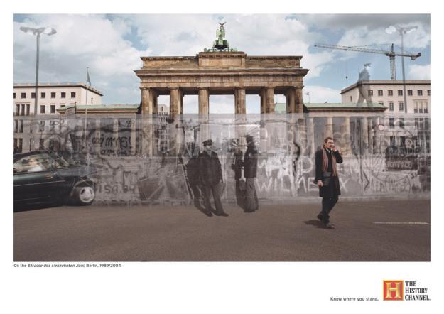 History Channel'dan tarihin gölgesini günümüze taşıyan kampanya