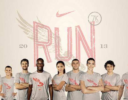 Nike, Pazar günü sporseverleri harekete geçmeye çağırıyor.