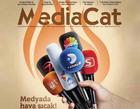 MediaCat Eylül 2013 sayısı kapağı
