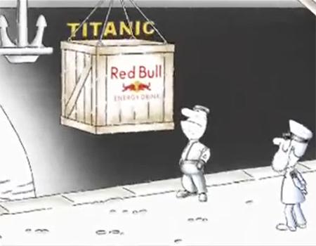 Red Bull'un 'enerji içeceği olsa Titanik batmazdı' diyen reklamına şikâyet yağdı.
