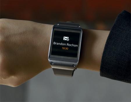Samsung'dan akıllı saati Gear'a ilk reklam filmi