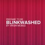 Virgin Mobile için hazırlanan online filmde sahneler göz kırpışınızla değişiyor.