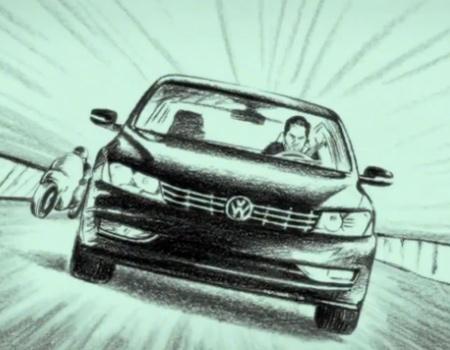 Volkswagen, ücretsiz bakım kampanyasını a-ha'nın 'Take on me'si ile tanıtıyor.