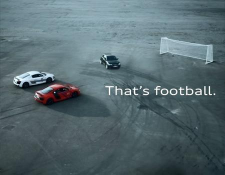 Barcelona vs. Real Madrid ya da Audi, Audi'ye karşı.