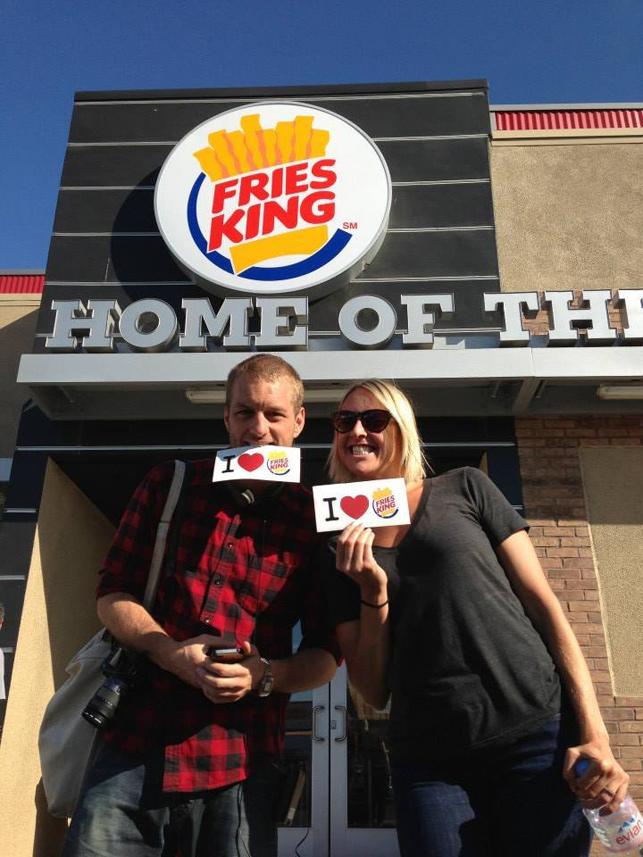 Burger King adını Fries King olarak değiştiriyor