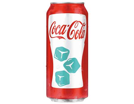 Coca-Cola'dan tasarımı soğukta değişen kutu