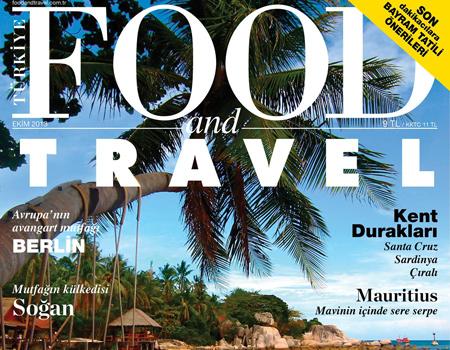 Yayın hayatına iki yıl önce ara veren Food and Travel Türkiye, Ekim 2013'ten itibaren yeniden raflardaki yerini alıyor.