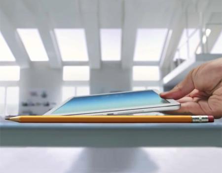 Apple yeni tableti iPad Air için ilk reklam filmini yayınladı.